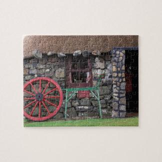 United Kingdom, Scotland, Isle of Skye, stone Jigsaw Puzzle
