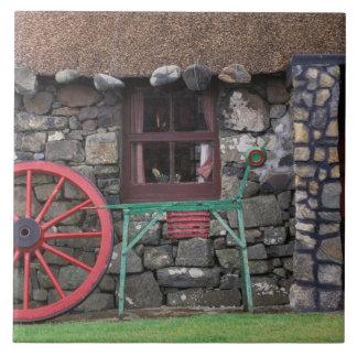 United Kingdom, Scotland, Isle of Skye, stone Tile