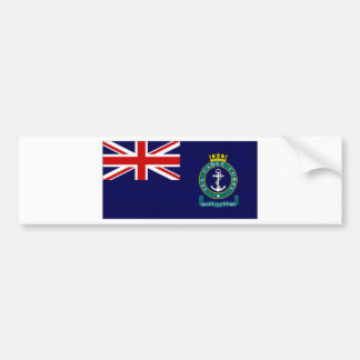 United Kingdom Sea Cadet Corps Flag Bumper Sticker