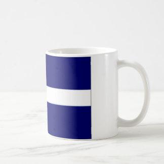 United Kingdom Shetland Islands Flag Basic White Mug
