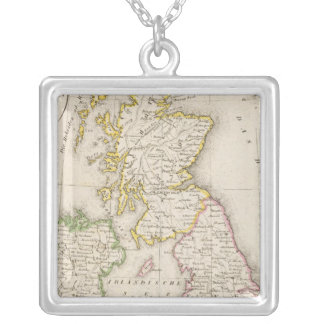 United Kingdom Silver Plated Necklace