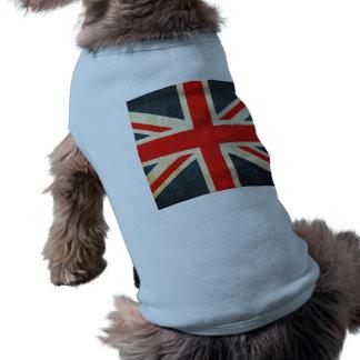 United Kingdom Sleeveless Dog Shirt