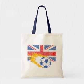 United Kingdom Soccer Tote Bag