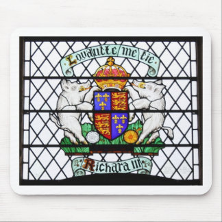UNITED KINGDOM STAINED GLASS RICHARD III MOUSE MAT