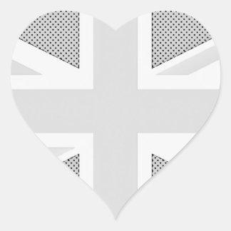 UNITED KINGDOM HEART STICKERS