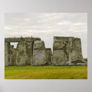 United Kingdom, Stonehenge 10 Poster