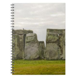 United Kingdom, Stonehenge 10 Spiral Notebook