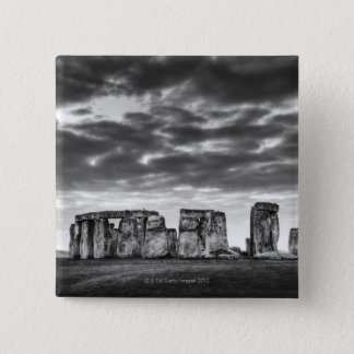United Kingdom, Stonehenge 11 15 Cm Square Badge
