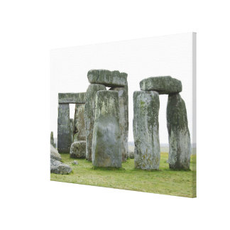 United Kingdom, Stonehenge 11 Canvas Print