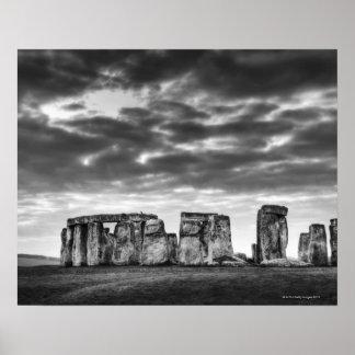 United Kingdom, Stonehenge 11 Poster