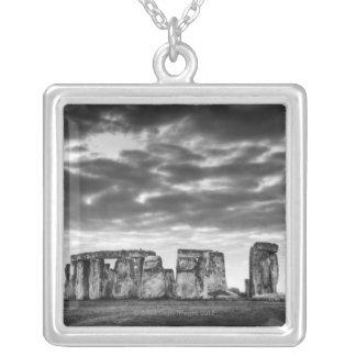 United Kingdom, Stonehenge 11 Silver Plated Necklace