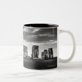 United Kingdom, Stonehenge 11 Two-Tone Coffee Mug