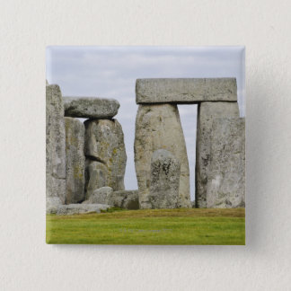 United Kingdom, Stonehenge 12 15 Cm Square Badge