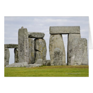 United Kingdom, Stonehenge 12 Card