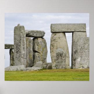United Kingdom, Stonehenge 12 Poster