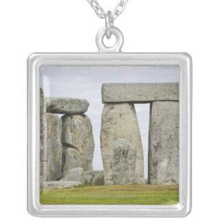 United Kingdom, Stonehenge 12 Silver Plated Necklace