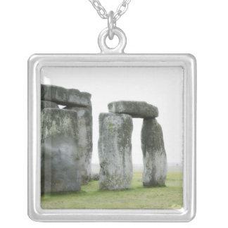 United Kingdom, Stonehenge 13 Silver Plated Necklace