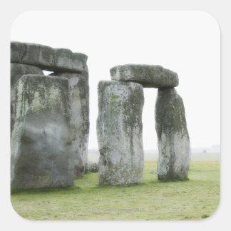 United Kingdom, Stonehenge 13 Square Sticker