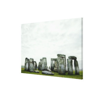 United Kingdom, Stonehenge 14 Canvas Print