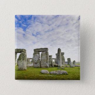 United Kingdom, Stonehenge 15 Cm Square Badge