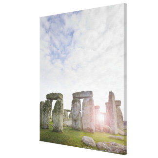United Kingdom, Stonehenge 2 Canvas Print