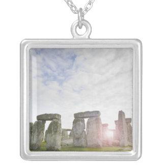 United Kingdom, Stonehenge 2 Silver Plated Necklace