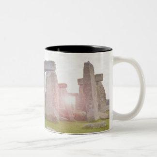 United Kingdom, Stonehenge 2 Two-Tone Coffee Mug