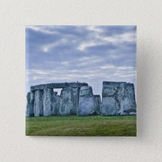 United Kingdom, Stonehenge 3 15 Cm Square Badge