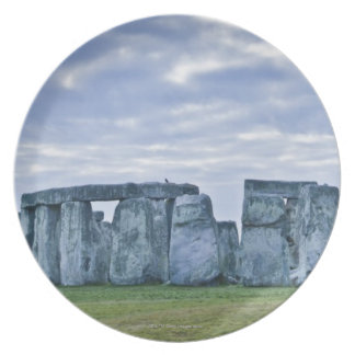 United Kingdom, Stonehenge 3 Plate