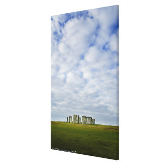 United Kingdom, Stonehenge 5 Canvas Print