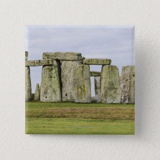 United Kingdom, Stonehenge 6 15 Cm Square Badge