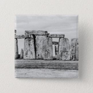 United Kingdom, Stonehenge 7 15 Cm Square Badge