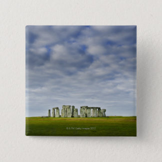 United Kingdom, Stonehenge 8 15 Cm Square Badge