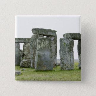 United Kingdom, Stonehenge 9 15 Cm Square Badge