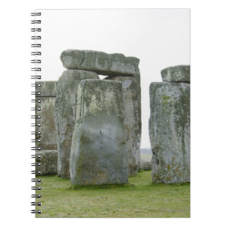 United Kingdom, Stonehenge 9 Spiral Notebook