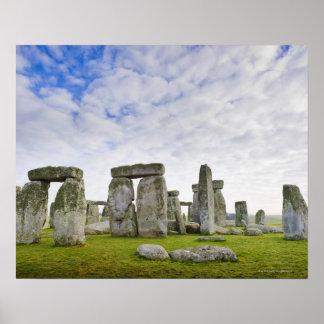 United Kingdom, Stonehenge Poster