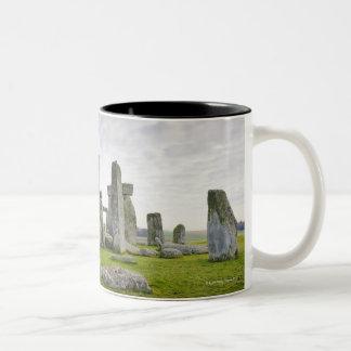 United Kingdom, Stonehenge Two-Tone Coffee Mug
