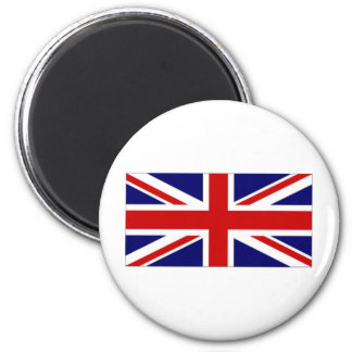 United Kingdom Union Flag amp Naval Jack 6 Cm Round Magnet