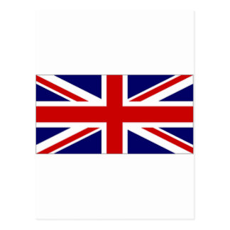 United Kingdom Union Flag amp Naval Jack Postcard