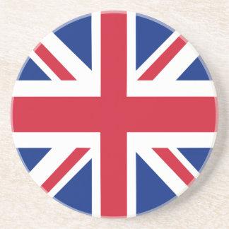 United Kingdom Union Jack Flag Coaster