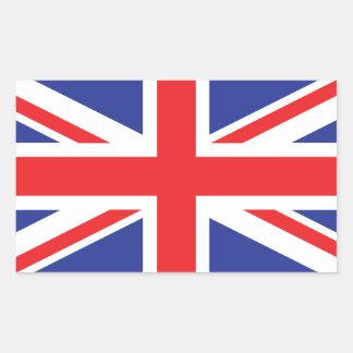 United Kingdom /Union Jack Flag Rectangular Sticker