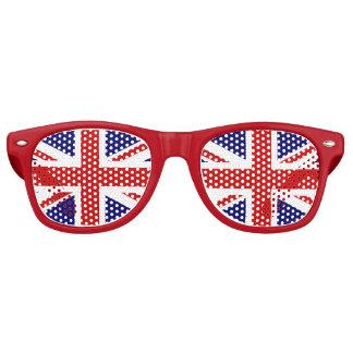United Kingdom Union Jack Flag Retro Sunglasses