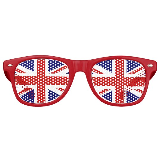 United Kingdom Great Britain Union Jack Country Flag Eraser Set of 2