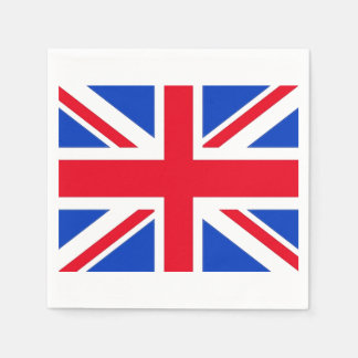 United Kingdom Union Jack Paper Party Napkins Paper Napkins