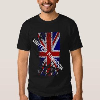 United Kingdom -  Vintage Union Jack Flag Tshirts