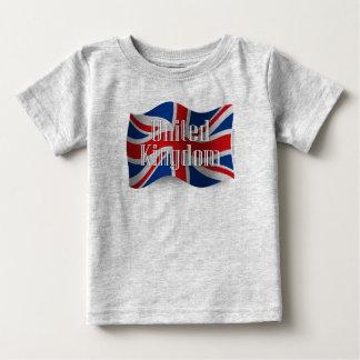 United Kingdom Waving Flag Tee Shirt