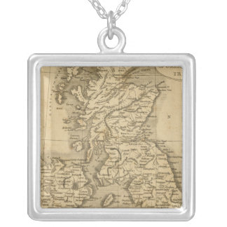 United Kingdoms Silver Plated Necklace