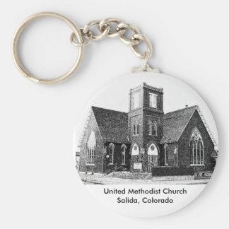United Methodist Church Key Ring