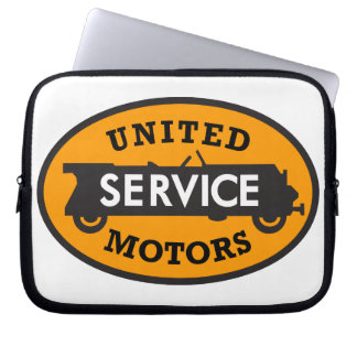 United Motors Service vintage sign reproduction Laptop Sleeve