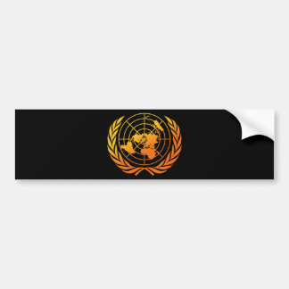 United Nations 2 Bumper Stickers
